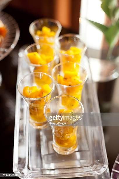 Fancy fruit cups