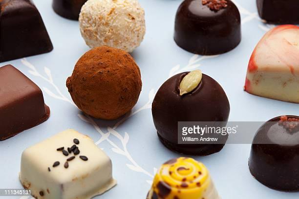 Fancy, handmade chocolates
