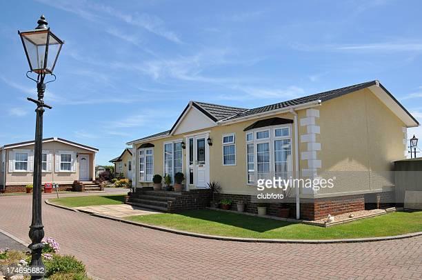 Residenziale Casa mobile in una qualità caravan park estate