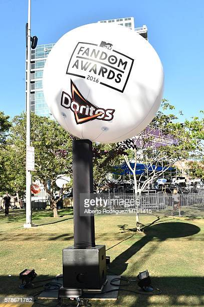 Fandom Awards Doritos Balloon at the MTV Fandom Awards San Diego at PETCO Park on July 21 2016 in San Diego California