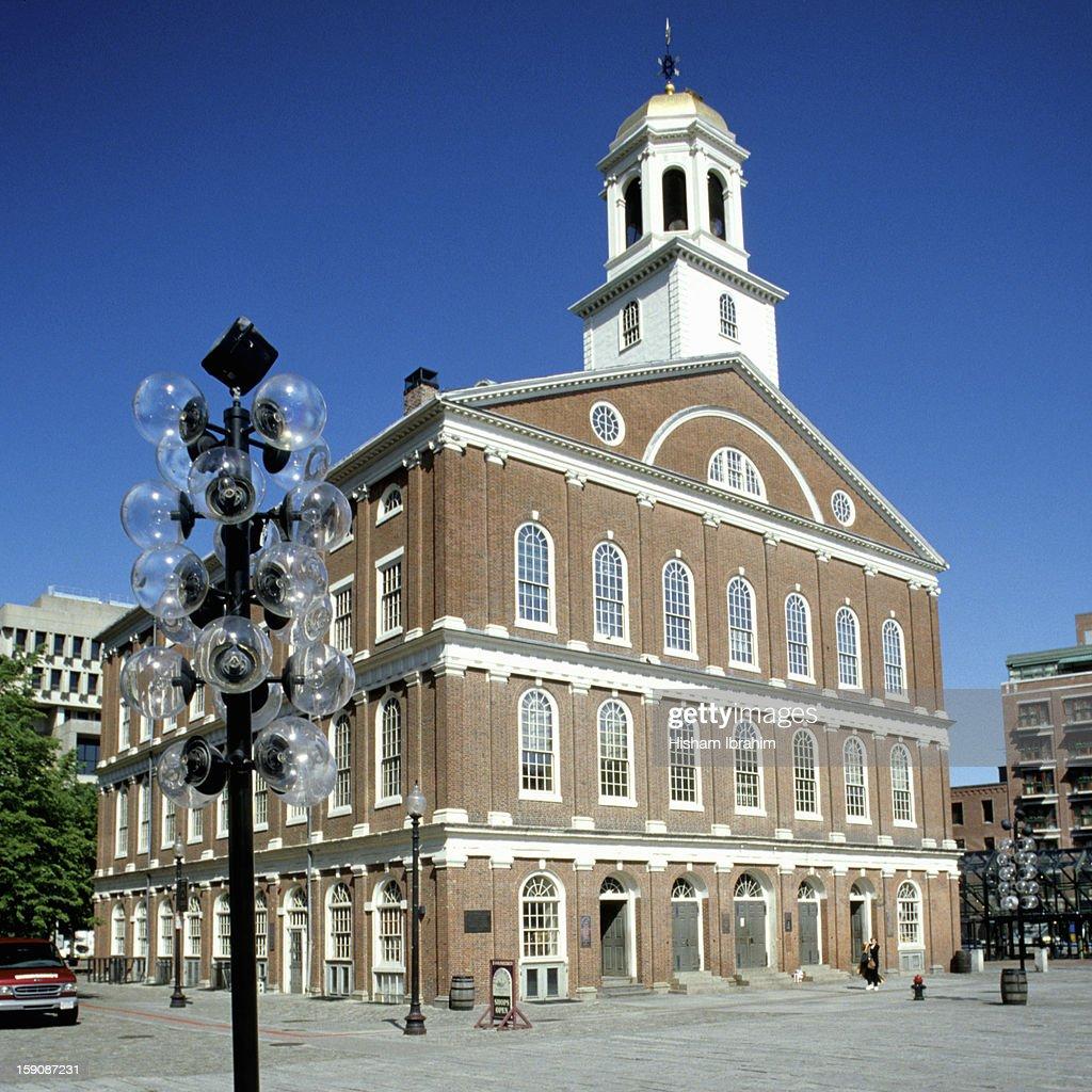 Faneuil Hall, Boston, Massachusetts, USA : Stock Photo