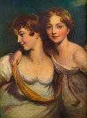 Fanny and Jane Hamond The daughters of the Rev Horace Hamond From The Connoisseur Vol XLVIII [Otto Limited London 1917]