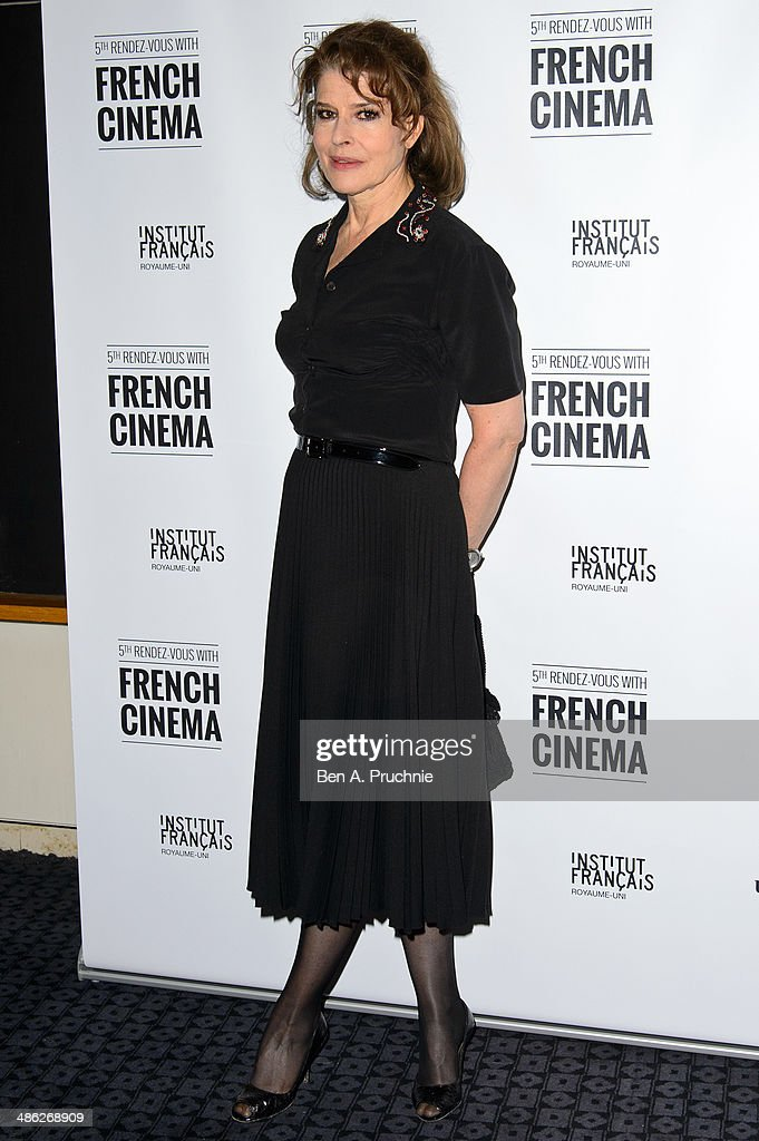 <a gi-track='captionPersonalityLinkClicked' href=/galleries/search?phrase=Fanny+Ardant&family=editorial&specificpeople=221685 ng-click='$event.stopPropagation()'>Fanny Ardant</a> attends the Rendez-Vous with French Cinema opening night premiere of 'Bright Days Ahead' at The Curzon Sohoon April 23, 2014 in London, England.