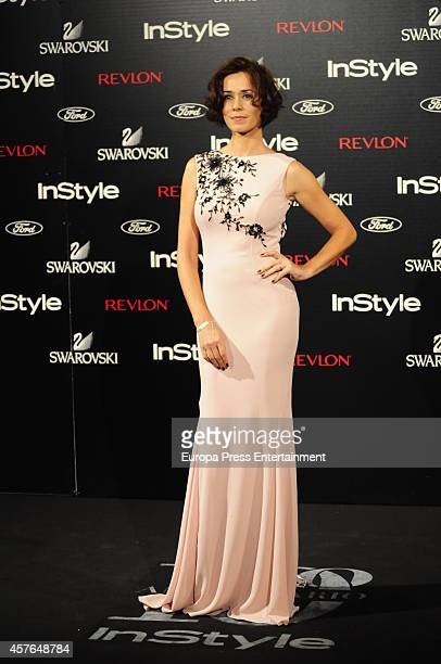 Fanny Gautier attends the InStyle Magazine 10th anniversary party on October 21 2014 in Madrid Spain