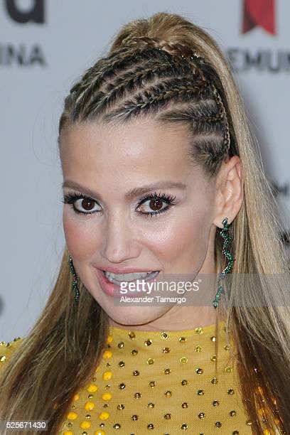 Fanny Lu attends the Billboard Latin Music Awards at Bank United Center on April 28 2016 in Miami Florida