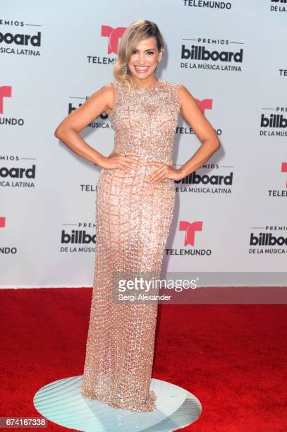 Fanny Lu attends the Billboard Latin Music Awards at Watsco Center on April 27 2017 in Coral Gables Florida