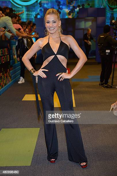 Fanny Lu attends Univision's Premios Juventud 2015 at Bank United Center on July 16 2015 in Miami Florida