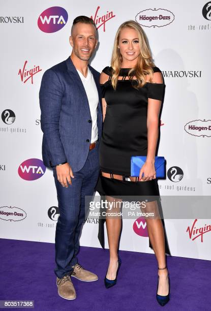 Fanny Stollar attending the annual WTA preWimbledon party at the Roof Gardens Kensington London