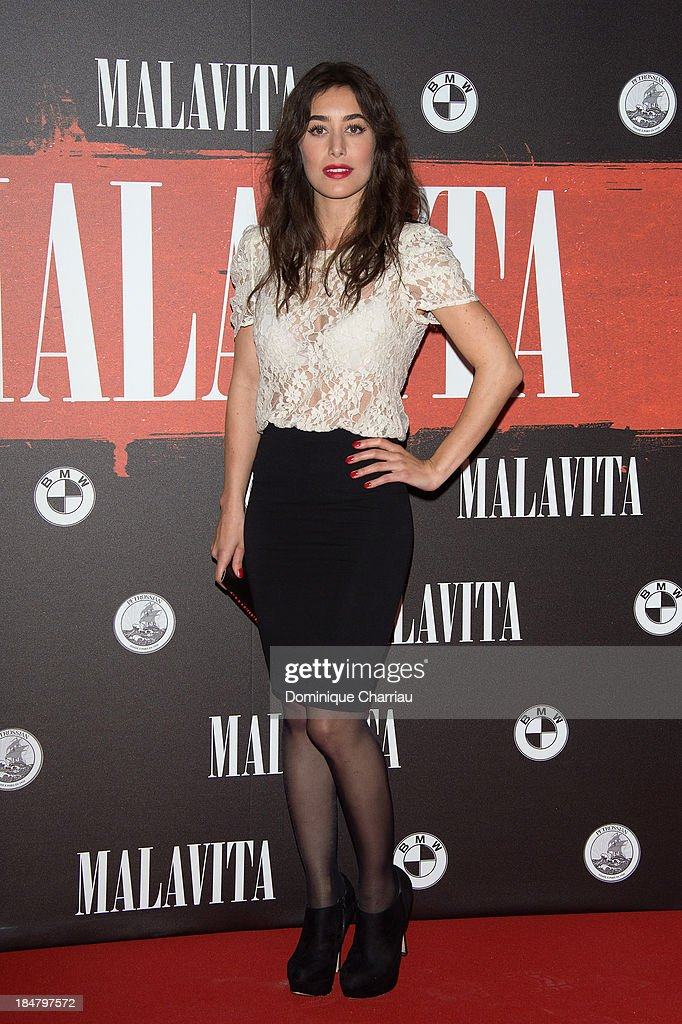 Fanny Valette attends the 'Malavita' premiere at Europacorp Cinema on October 16, 2013 in Roissy-en-France, France.