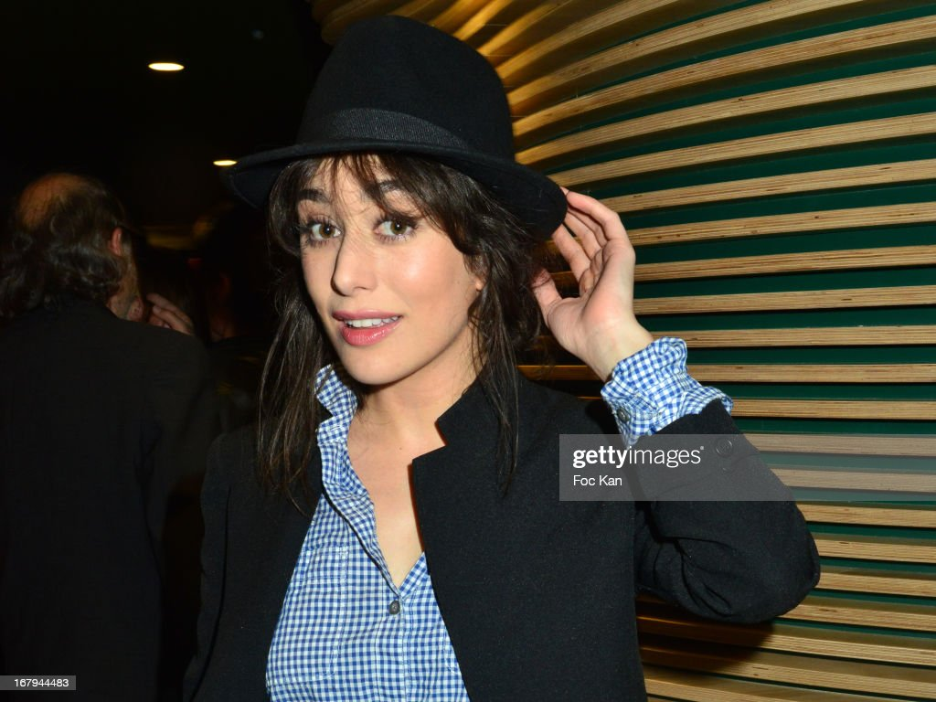 Fanny Valette attends the Sam Bobino DJ Set Party At The Hotel O on April 25, 2013 in Paris, France.