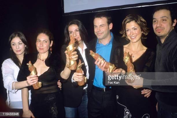 Fanny Valette Karin Albou Marie Drucker Remi Castillo Veronique Mounier and Alexandre Astier