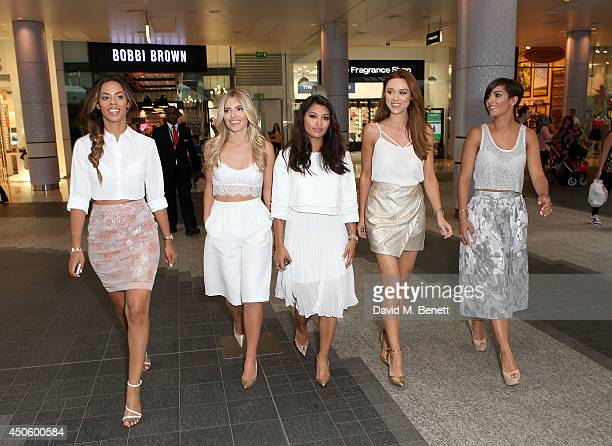 Fans All Fired Up to meet with Casio Sheen brand ambassadors The Saturdays Rochelle Wiseman Mollie King Vanessa White Una Foden and Frankie Sandford...