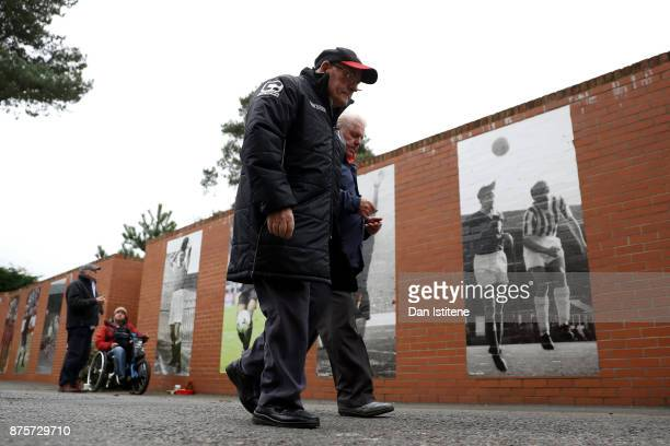 Fans arrive prior to the Premier League match between AFC Bournemouth and Huddersfield Town at Vitality Stadium on November 18 2017 in Bournemouth...