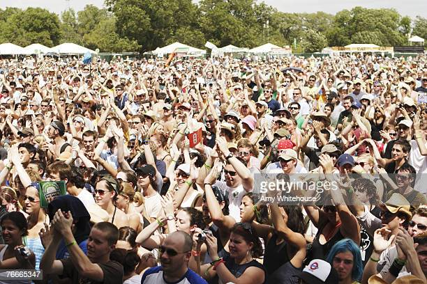 Fans at Austin City Limits
