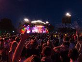 Fans at music festival