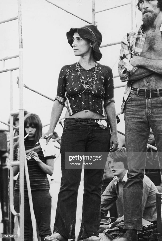 Fans at the Woodstock Music Festival Bethel New York 15th17th August 1969