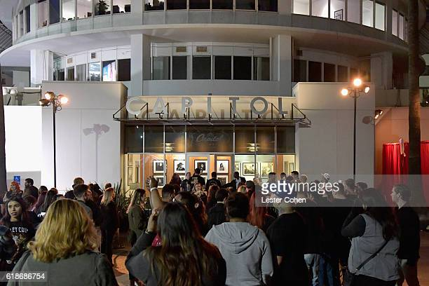 Fans attend Avenged Sevenfold Groundbreaking Global VR Event Live at Iconic Capitol Records Building Band SurpriseReleased New Album The Stage...