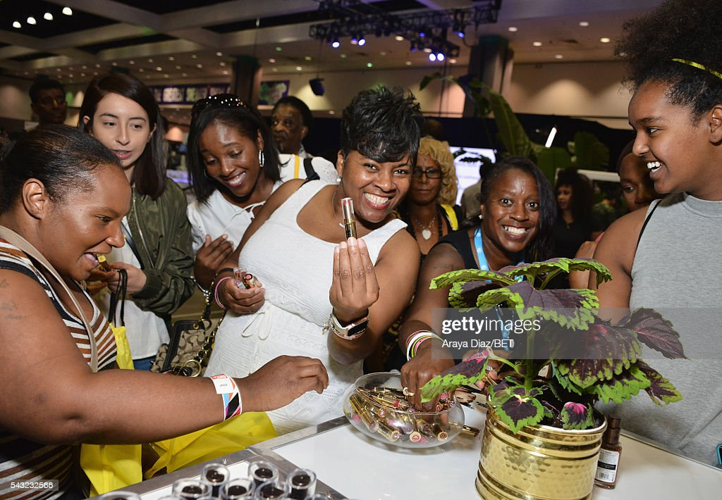 Fans attend Fashion And Beauty @BETX presented by Progressive, Covergirl, Strength of Nature, Korbel and Macy's during the 2016 BET Experience on June 26, 2016 in Los Angeles, California.