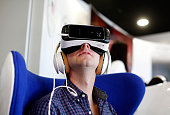 Fans attend Team USA's Virtual Reality Experience Powered by Samsung Gear VR during the 2015 Road to Rio Tour at the Head of the Charles Regatta on...