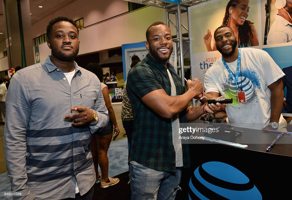 Fans attend the Fan Fest during the 2016 BET Experience on June 26, 2016 in Los Angeles, California.