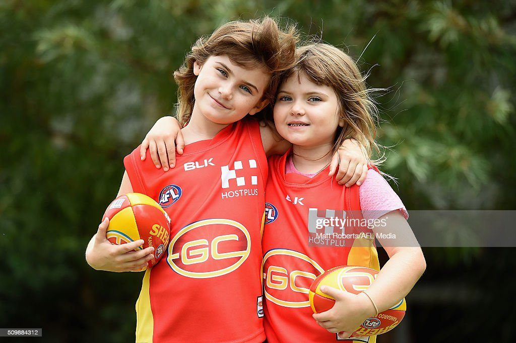 Fans attend the Gold Coast Suns AFL open day at Metricon Stadium on February 13, 2016 on the Gold Coast, Australia.