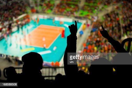 ファン喜びには、スポーツイベント