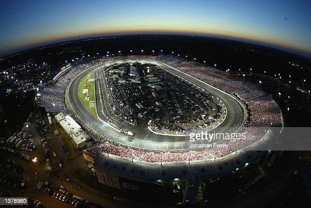 100000 fans create a card stunt salute to America in recognition of the upcoming anniversery of the September 11th terrorist attacks on September 7...
