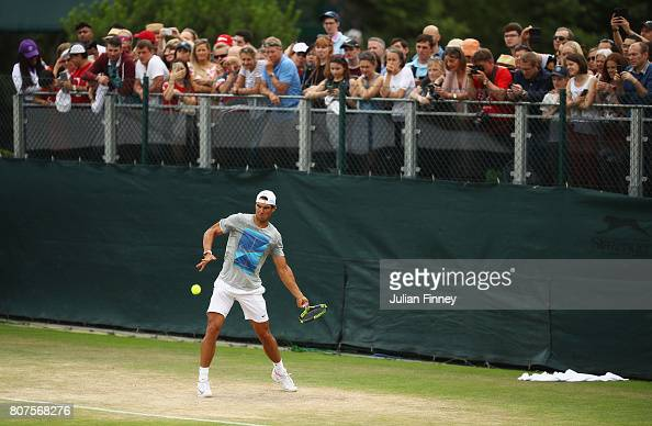 Day Two: The Championships - Wimbledon 2017 : Photo d'actualité