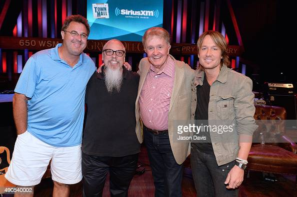Keith davis stock photos and pictures getty images fans meet and greet recording artists after the siriusxm townhall with bill anderson vince gill and m4hsunfo