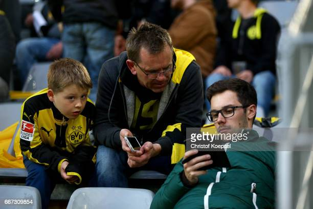Fans of Dortmund are concerned of the bomb attack to the bus of Borussia Dortmund prior to the UEFA Champions League Quarter Final first leg match...