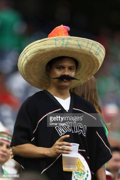 Fans of Mexico are seen prior to the friendly match between Mexico and Ghana at NRG Stadium on June 28 2017 in Houston Texas