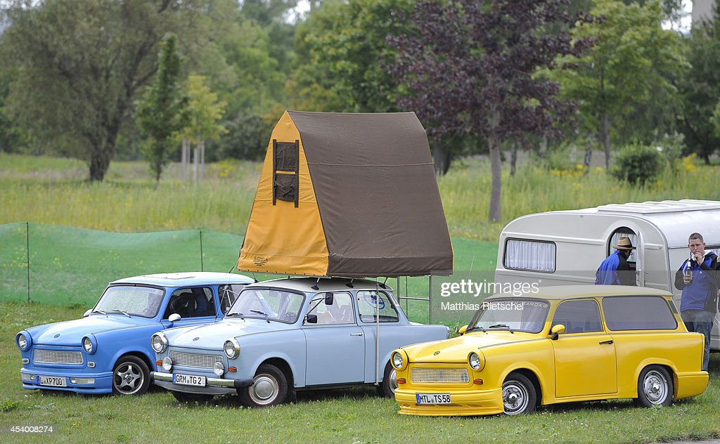 Trabant Enthusiasts Gather In Zwickau Photos And Images Getty Images