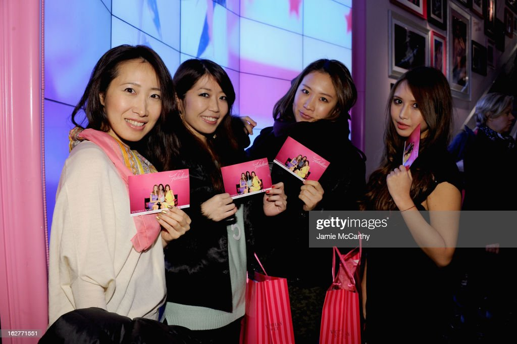 Fans of Victoria's Secret Angels attend the Fabulous Launch at Victoria's Secret Herald Square on February 26, 2013 in New York City.