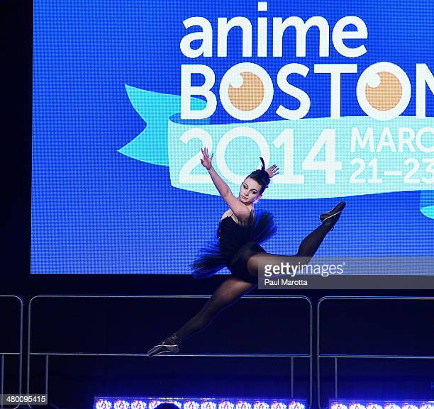 Fans perform skits in an amateur Masquerade Contest at the Anime Boston 2014 Convention attended by more than 22000 fans at Hynes Convention Center...