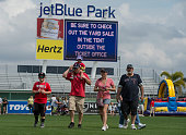 Fans stroll through jetBlue Park during an open house at Fenway South in Fort Myers Florida on February 28 2015