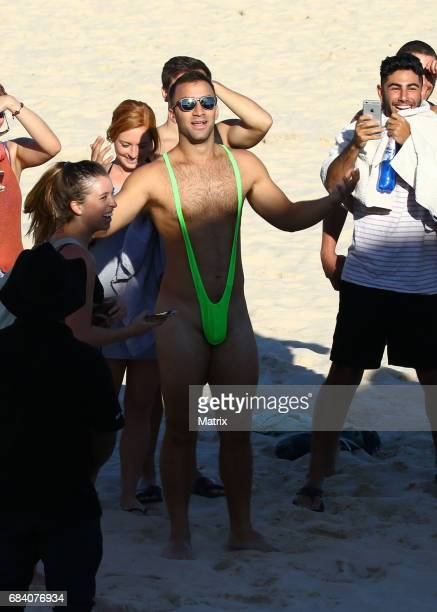 Fans wait for Zac Efron and Alexandra Daddario to arrive on Bondi Beach to promote Baywatch on May 17 2017 in Sydney Australia