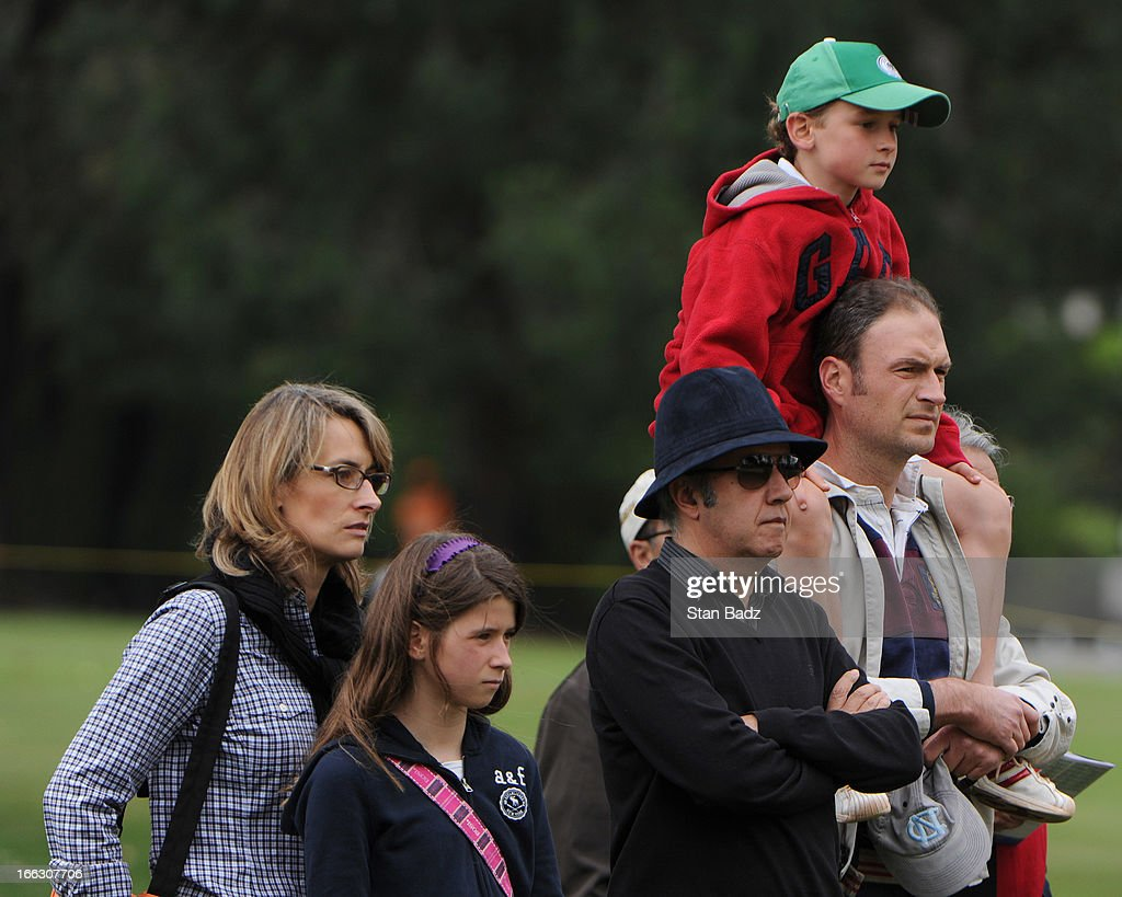 Fans watch play on the fifth hole during the final round of the Colombia Championship at Country Club de Bogota on March 3, 2013 in Bogota, Colombia.