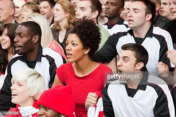 Fans vor dem Spiel