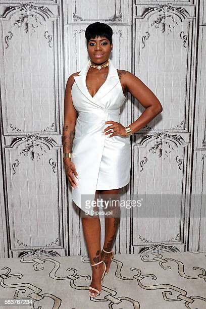 Fantasia attends the AOL Build Speaker Series to discuss her new album 'The Definition Of' at AOL HQ on July 27 2016 in New York City