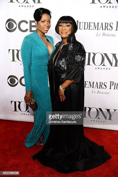 Fantasia Barrino and Patti Labelle attend the 68th Annual Tony Awards at Radio City Music Hall on June 8 2014 in New York City