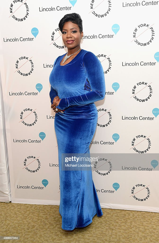 Fantasia Barrino attends Sinatra Voice for A Century Event at David Geffen Hall on December 3, 2015 in New York City.