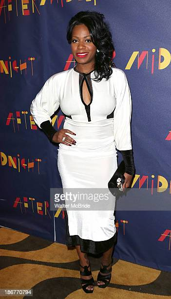 Fantasia Barrino attends the 'After Midnight' Broadway Opening Night After Party at Copacabana on November 3 2013 in New York City
