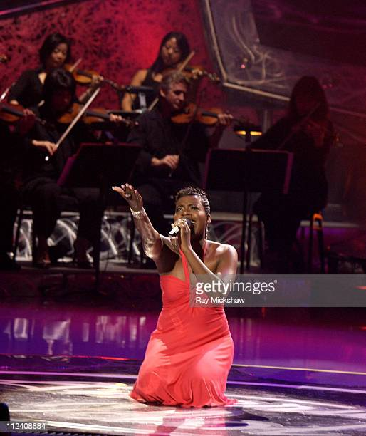 Fantasia Barrino during 'American Idol' Season 3 Finale Performance Show at Kodak Theatre in Hollywood California United States