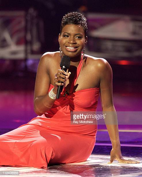Fantasia Barrino during 'American Idol' Season 3 Finale Performance Show at Kodak Theatre in Hollywood California United States