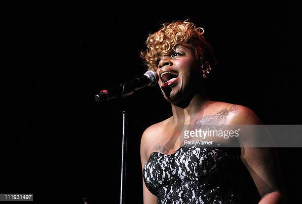 Fantasia Barrino performs at The Venue at The Horseshoe Casino on April 8 2011 in Hammond Indiana