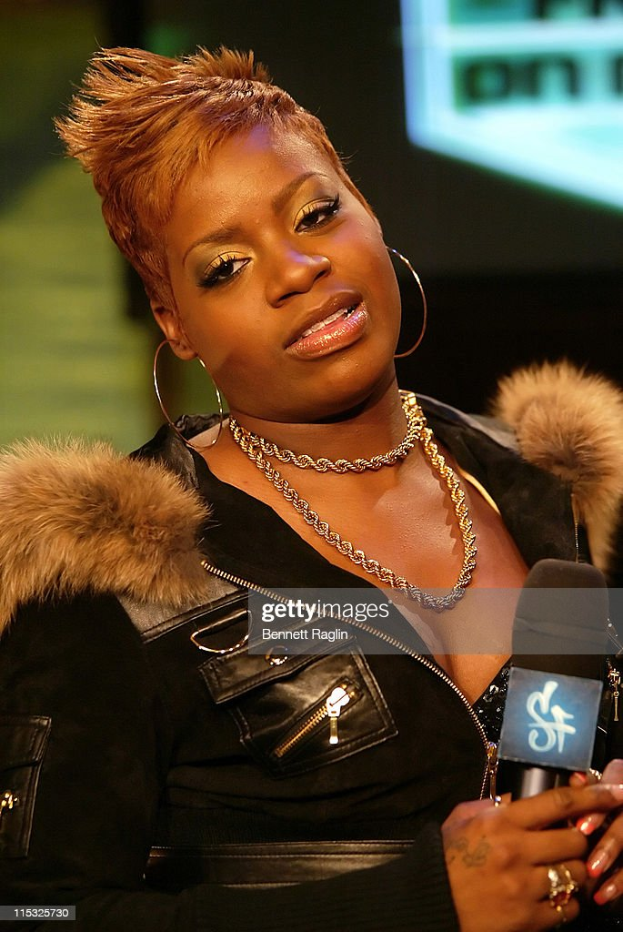 Fantasia during Lil Boosie and Fantasia Visit MTV's 'Sucker Free' January 23 2007 at MTV Studios in New York City New York United States