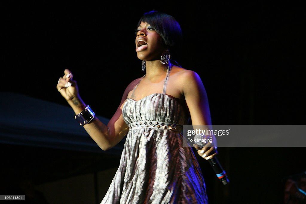 Fantasia performs at Christopher Street West 2009 Los Angeles LGBT Pride in West Hollywood CA on June 13 2009