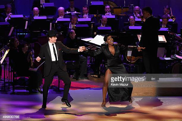 Fantasia performs onstage during the Sinatra Gala with New York Philharmonic at Lincoln Center's David Geffen Hall on December 3 2015 in New York City