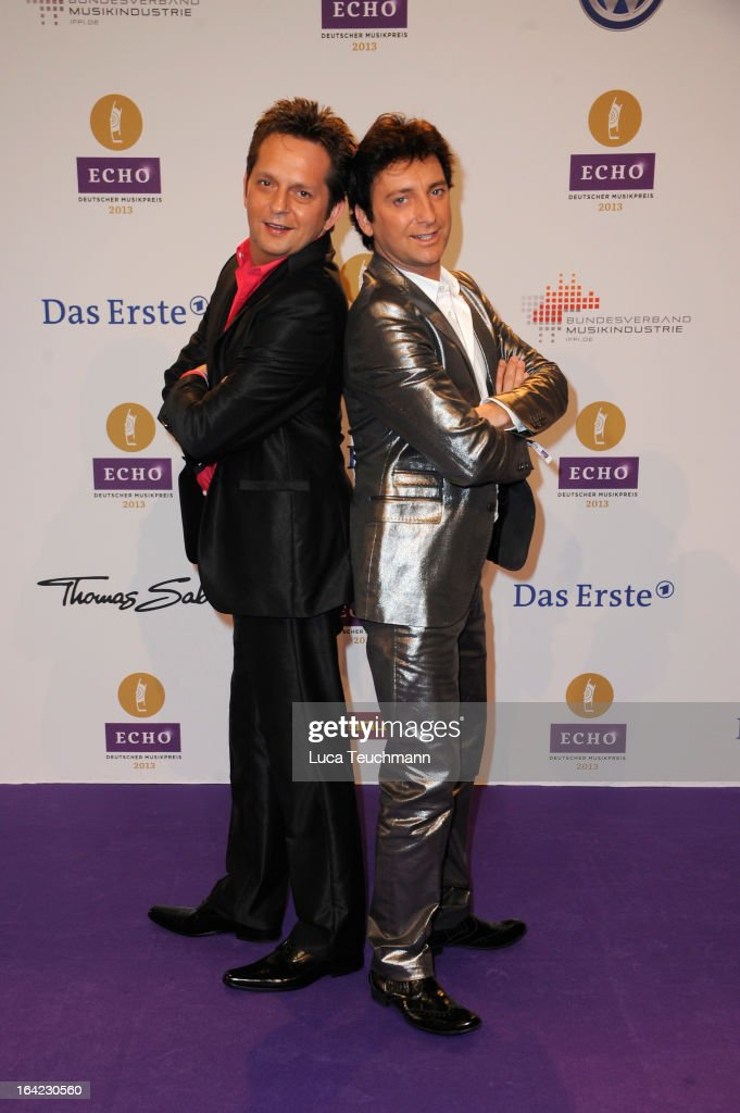 Fantasy attend the Echo Award 2013 at Palais am Funkturm on March 21, 2013 in Berlin, Germany.