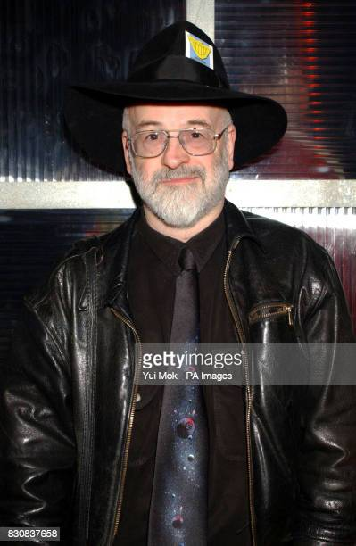 Fantasy author Terry Pratchett during the 2000AD 25th Anniversary Party at Ministry of Sound in London * 12/07/02 Bestselling fantasy writer Terry...